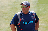 Matt Walker, Kent head coach walks around the pitch during Essex CCC vs Kent CCC, Bob Willis Trophy Cricket at The Cloudfm County Ground on 2nd August 2020