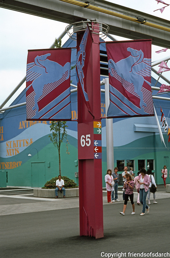 Vancouver: EXPO '86--Graphics.  Photo '86.