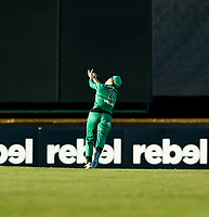 2nd November 2019; Western Australia Cricket Association Ground, Perth, Western Australia, Australia; Womens Big Bash League Cricket, Perth Scorchers versus Melbourne Stars; Elyse Villani of the Melbourne Stars takes a catch in the outfield - Editorial Use