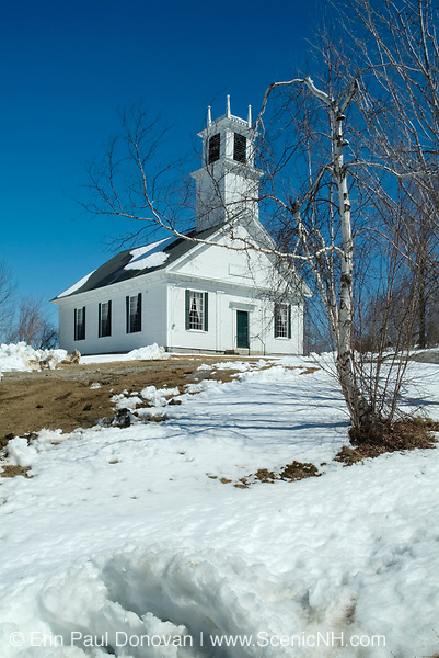 First Free Will Baptist Church of America founded in 1780 by Elder Benjamin Randall.  Located in New Durham, New Hampshire, USA, which is part of New England