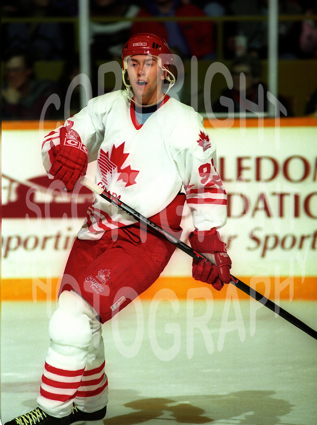 Petr Nedved Team Canada 1994. Photo copyright F. Scott Grant