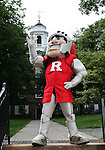The Rutgers University New Brunswick and Camden Mascots at Rutgers University in New Brunswick.