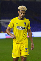 AFC Wimbledon's Lyle Taylor after the final whislte in the Sky Bet League 1 match between Oldham Athletic and AFC Wimbledon at Boundary Park, Oldham, England on 21 November 2017. Photo by Juel Miah/PRiME Media Images