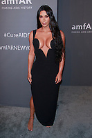 NEW YORK, NY - FEBRUARY 6: Kim Kardashian West arriving at the 21st annual amfAR Gala New York benefit for AIDS research during New York Fashion Week at Cipriani Wall Street in New York City on February 6, 2019. <br /> CAP/MPI99<br /> &copy;MPI99/Capital Pictures