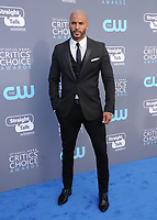 11 January 2018 - Santa Monica, California - Ricky Whittle. 23rd Annual Critics' Choice Awards held at Barker Hangar. <br /> CAP/ADM/BT<br /> &copy;BT/ADM/Capital Pictures