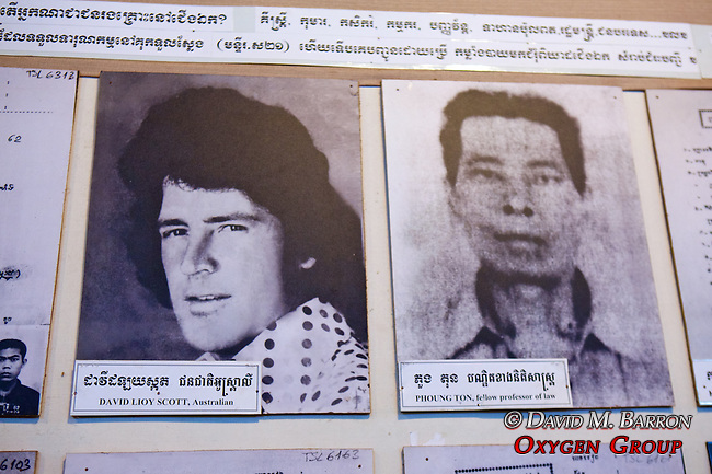 David Lioy Scott & Phoung Ton Photos, Choeung Ek Museum