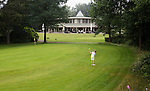 AALDEN - Drentse Golfclub De Gelpenberg . Hole 18 met clubhuis.  COPYRIGHT KOEN SUYK