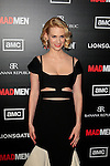 LOS ANGELES, CA - MAR 14: January Jones at AMC's special screening of 'Mad Men' season 5 held at ArcLight Cinemas Cinerama Dome on March 14, 2012 in Los Angeles, California