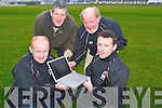 KEEPING UP TO DATE: St. Brendans Football Club have a new website to help its members keep up to date with all the latest club news. From l-r were: Danny Diggins, John Hoare, Christy Leahy and Darren Aherne..
