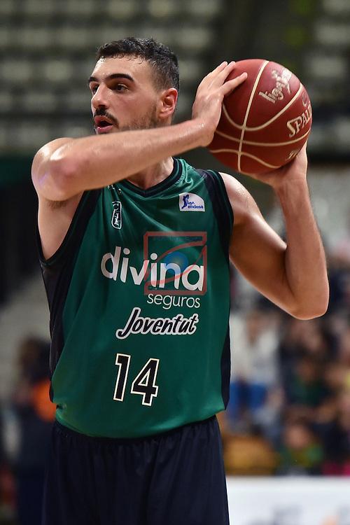 League ACB-ENDESA 2016/2017. Game: 5.<br /> Divina Seguros Joventut vs Baskonia: 83-90.<br /> Albert Ventura.