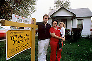 Detroit. U.S.A, September, 1980. America severely marked by the recession. They owned their house but now these automobile industry workers being out of work canot pay their mortage anymore and are forced to sell their house.