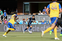 San Jose, CA - Saturday July 29, 2017: Shea Salinas during a Major League Soccer (MLS) match between the San Jose Earthquakes and Colorado Rapids at Avaya Stadium.