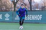 04.12.2018, Trainingsgelaende am Weserstadion, Bremen, GER, 1.FBL, Training SV Werder Bremen<br /> <br /> im Bild <br /> Marco Friedl (Werder Bremen #32), <br /> <br /> Foto © nordphoto / Ewert