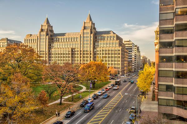 Franklin Square Washington DC Architecture