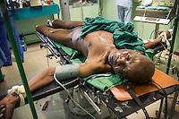 FATEBENEFRATELLI SAINT JEAN DE DIEU HOSPITAL IN TANGUIETA IN THE PICTURE A PATIENT DURING A SURGERY PHOTO BY MATTEO BIATTA