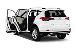 Car images of 2016 Toyota RAV4 Hybrid-Limited-4x4 5 Door SUV Doors