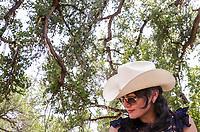 Marisol Soto. Vaquera en la Cabalgata por Quiriego.<br /> IV Festival Maria Bonita en Quiriego, Sonora.