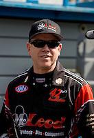 Aug. 4, 2013; Kent, WA, USA: NHRA funny car driver Paul Lee during the Northwest Nationals at Pacific Raceways. Mandatory Credit: Mark J. Rebilas-USA TODAY Sports