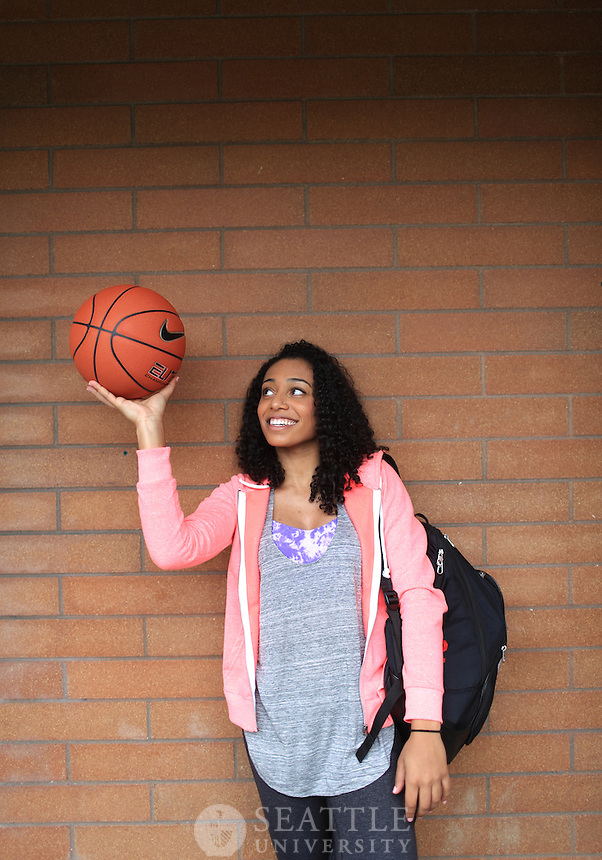 04232014- Kaylee Best - Women's basketball player