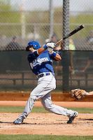 Gabriel Casanova - Los Angeles Dodgers - 2009 spring training.Photo by:  Bill Mitchell/Four Seam Images
