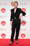 Japanese singer Mari Natsuki poses for the cameras during the ELLE WOMEN in SOCIETY 2018 on June 16, 2018, Tokyo, Japan. The annual event focuses on working women's role in the Japanese society through various seminars where top businesswomen, celebrities and leaders are invited to speak. (Photo by Rodrigo Reyes Marin/AFLO)