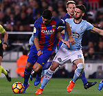 04.03.2017 Barcelona. La Liga game 26. Picture show Luis Suarez in action during game between FC Barcelona against Celta at Camop Nou