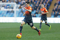 Daniel James of Swansea City in action during the Sky Bet Championship match between Sheffield Wednesday and Swansea City at Hillsborough Stadium, Sheffield, England, UK. Saturday 23 February 2019