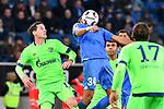 01.12.2018, wirsol Rhein-Neckar-Arena, Sinsheim, GER, 1 FBL, TSG 1899 Hoffenheim vs FC Schalke 04, <br /> <br /> DFL REGULATIONS PROHIBIT ANY USE OF PHOTOGRAPHS AS IMAGE SEQUENCES AND/OR QUASI-VIDEO.<br /> <br /> im Bild: Joelinton (TSG Hoffenheim #34) gegen Sebastian Rudy (FC Schalke 04 #13)<br /> <br /> Foto &copy; nordphoto / Fabisch