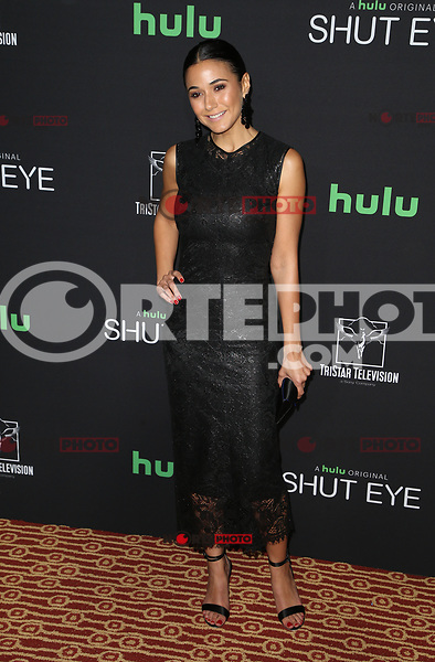 HOLLYWOOD, CA - NOVEMBER 28: Emmanuelle Chriqui, at Premiere Of Hulu's 'Shut Eye' Season 2 at The Magic Castle in Hollywood, California on November 28, 2017. Credit: Faye Sadou/MediaPunch /NortePhoto.com NORTEPOTOMEXICO