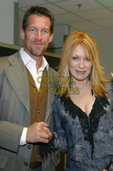 JAMES DENTON & NANCY WILSON -  HEART.Songs of the Year Taping Presented by Cracker Barrel held at Schermerhorn Symphony Center, Nashville, Tennessee, USA..November 5th, 2006.Ref: ADM/RR.half length holding hands blue grey gray.www.capitalpictures.com.sales@capitalpictures.com.©Randi Radcliff/AdMedia/Capital Pictures