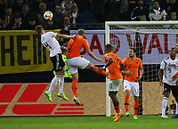 Kopfball Matthias Ginter (Deutschland Germany) - 06.09.2019: Deutschland vs. Niederlande, Volksparkstadion Hamburg, EM-Qualifikation DISCLAIMER: DFB regulations prohibit any use of photographs as image sequences and/or quasi-video.
