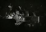 Modesto, California&mdash;September 20, 1980-Ray Charles preforms at Modesto Junior College Auditorium. <br /> Photo by Al Golub/Golub Photography