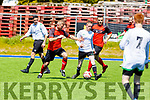 Action from Tralee Dynamos v Park Fc in the Greyhound Bar KO Cup Semi Final in Mounthawk Park on Sunday.