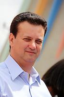 SAO PAULO, SP, 09 DE JANEIRO 2012. ABERTURA PROGRAMA RECREIO NAS FÉRIAS. O Prefeito Gilberto Kassab na abertura do programa Recreio nas Férias, no Céu Caminho do Mar, no bairro do Jabaquara, regiao sul de SP, na manha desta segunda-feira, 9. FOTO MILENE CARDOSO - NEWS FREE