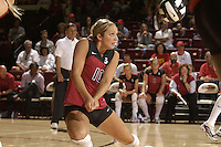 17 Sep 2005: Kristin Richards during Stanford's 3-0 win over UCSB at Maples Pavilion in Stanford, CA.