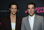 Miles McMillan and Zachary Quinto attends the 'The Boys In The Band' 50th Anniversary Celebration at The Second Floor NYC on May 30, 2018 in New York City.