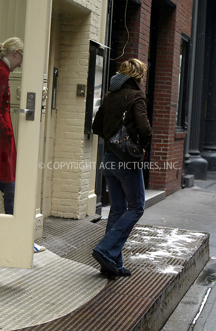 """Actress Kirsten Dunst takes time out of her busy New York schedule to do some shopping. Dunst, who is in New York to promote her new movie """"Eternal Sunshine of the Spotless Mind"""" in which she stars with Jim Carrey, Kate Winslett and Elijah Wood, left her Soho hotel on foot with a friend despite a snow storm and freezing temperatures. But she quickly found a warm welcome in the nearby Michael Kors store. After some deliberation she picked out a conservative brown calf-length skirt and black top and after gaining the approval of her friend and the store employees, she changed back into her jeans, paid up and set off back into the snowy New York Streets.  Please byline: ACE Pictures.   ..*PAY-PER-USE*      ....IMPORTANT: Please note that our old trade name, NEW YORK PHOTO PRESS (NYPP), is replaced by our new name, ACE PICTURES. New York Photo Press and ACE Pictures are owned by All Celebrity Entertainment, Inc.......All Celebrity Entertainment, Inc:  ..contact: Alecsey Boldeskul (646) 267-6913 ..Philip Vaughan (646) 769-0430..e-mail: info@nyphotopress.com"""