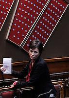 Mara Carfagna.Roma 12/1/2012 Voto alla  Camera dei Deputati  sulla proposta della Giunta di concedere l'autorizzazione ad eseguire la misura cautelare della custodia in carcere nei confronti di un deputato PDL.Foto Insidefoto  Serena Cremaschi.............