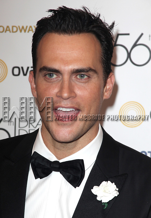 Cheyenne Jackson.attending the 56th Annual Drama Desk Awards Arrivals at Hammerstein Ballroom in New York City.