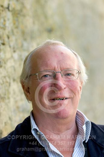 Robert Fisk, author and journalist at the Woodstock Literary Festival, Woodstock, Oxfordshire, UK. 16 September 2010. Photograph copyright Graham Harrison.