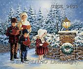 Dona Gelsinger, CHRISTMAS CHILDREN, paintings, kids, singing(USGE9405,#XK#)