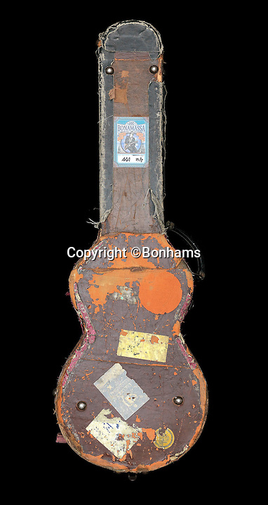 BNPS.co.uk (01202 558833)<br /> Pic: Bonhams/BNPS<br /> <br /> A guitar used by Free's Paul Kossoff to play the rock band's seminal single All Right Now is expected to fetch &pound;200,000 when it goes on sale for the first time.<br /> <br /> Kossoff, who is considered one of the most influential of British rock guitarists, played the 1959 Gibson Les Paul from 1970 when the band made it big with their hit song through to his untimely death in 1976.<br /> <br /> The electric guitar in trademark sunburst finish was popularised in the 1960s by rock legends like Keith Richards and Jimmy Page. <br /> <br /> Many consider it to be the perfect guitar and, although it originally cost about &pound;50, one can now fetch up to &pound;250,000. <br /> <br /> It is now being sold by Arthur Ramm, former guitarist of Beckett, a band that supported Free several times in the early '70s, through Bonhams Knightsbridge on December 10.