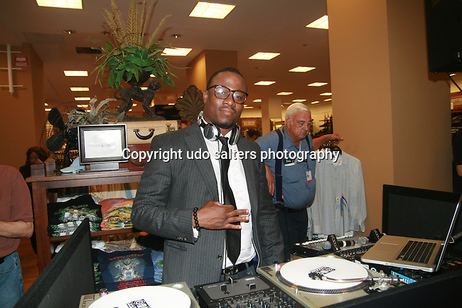 DJ M.O.S. attends Russell Simmons Celebrates The Grand Opening of the New Arygyleculture Men's Shop at Macy*s Herald Square, NY