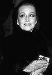 Anne Jeffreys attends a Broadway show on February 1, 2002 in New York City.