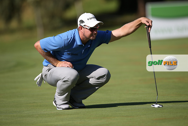 Merrick Bremner (RSA) putting during Round Two of the Tshwane Open 2015 at the Pretoria Country Club, Waterkloof, Pretoria, South Africa. Picture:  David Lloyd / www.golffile.ie. 13/03/2015