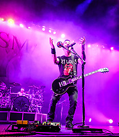 Sully Erna, Lead Vocals and Rhythm Guitar for Godsmack 2019 Fall Tour October 13th, 2019 in Ontario, California at the Toyota Arena