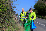 Cleaning road sides Dunleer