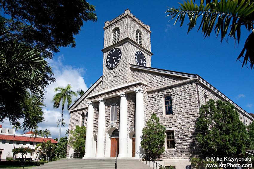 Kawaiaha'o Church, Honolulu, Oahu, Hawaii