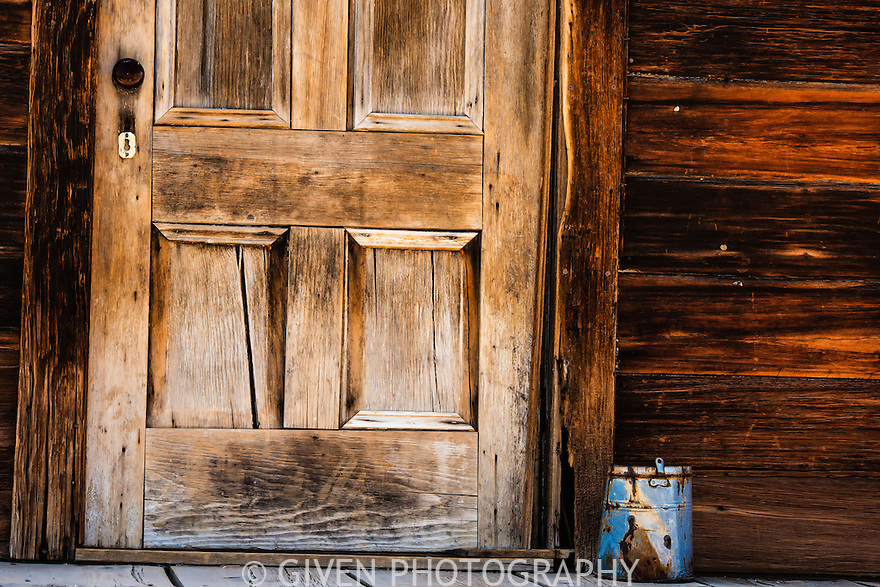 Door and Bucket, Bodie State Park, California