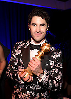 BEVERLY HILLS - JANUARY 6: Darren Criss attends the 2019 Fox Nominee Party for the 76th Annual Golden Globe Awards at the Fox Terrace on the Roof Deck of the Beverly Hilton on January 6, 2019, in Beverly Hills, California. (Photo by Frank Micelotta/Fox/PictureGroup)